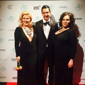 Me (left) with pianist Bradley Gilchrist ( centre) and dramatic soprano Whitney Erickson, my co founder.( far right)
